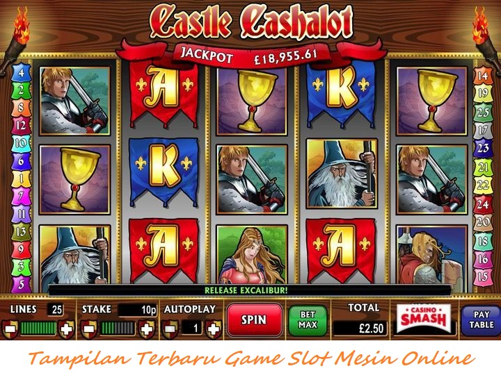 Tampilan Terbaru Game Slot Mesin Online